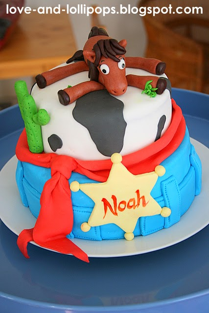 Cowboy Western Cake Decorations