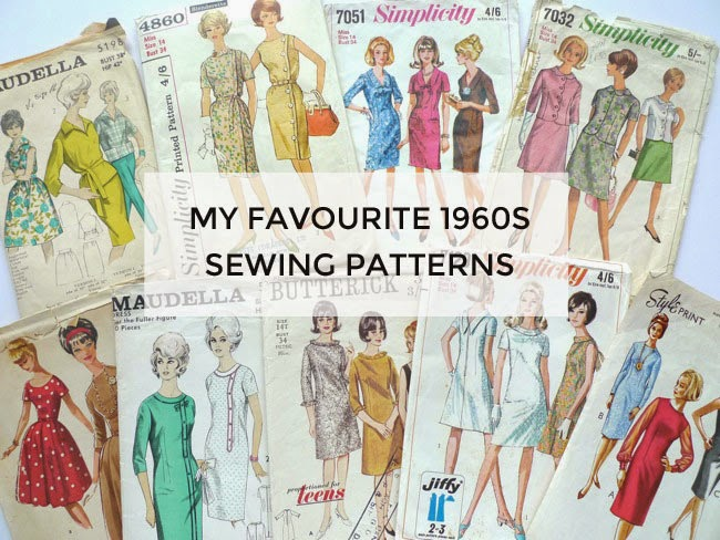 Tilly and the Buttons: My Favourite 1960s Sewing Patterns