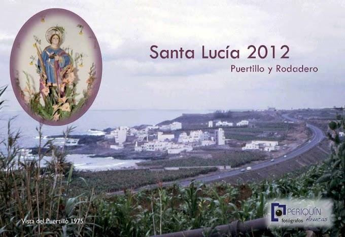 Programa de Fiestas en Honor a Santa Lucía 2012, El Puertillo