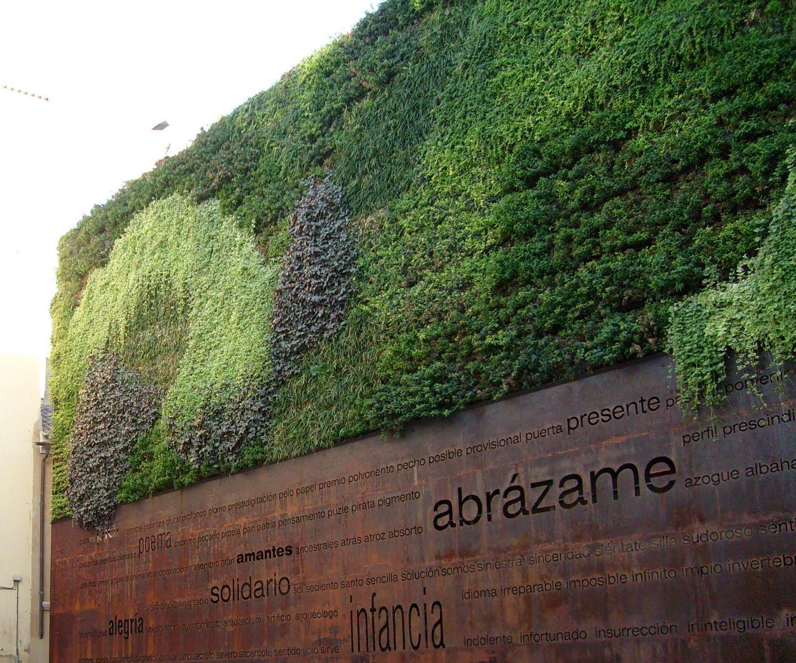 Cultura de sevilla jardines verticales una apuesta de futuro - Jardines verticales sevilla ...