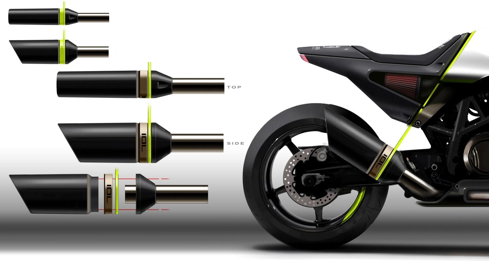 Racing Caf 232 Husqvarna Vitpilen 701 Concept Eicma 2015
