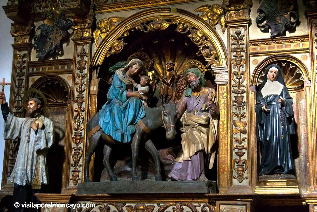 Capila de la Huida a Egipto Iglesia Santa María Magdalena Tarazona