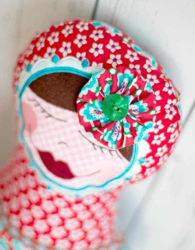 Kopf Matroischka Puppe - madame pimpinellskova