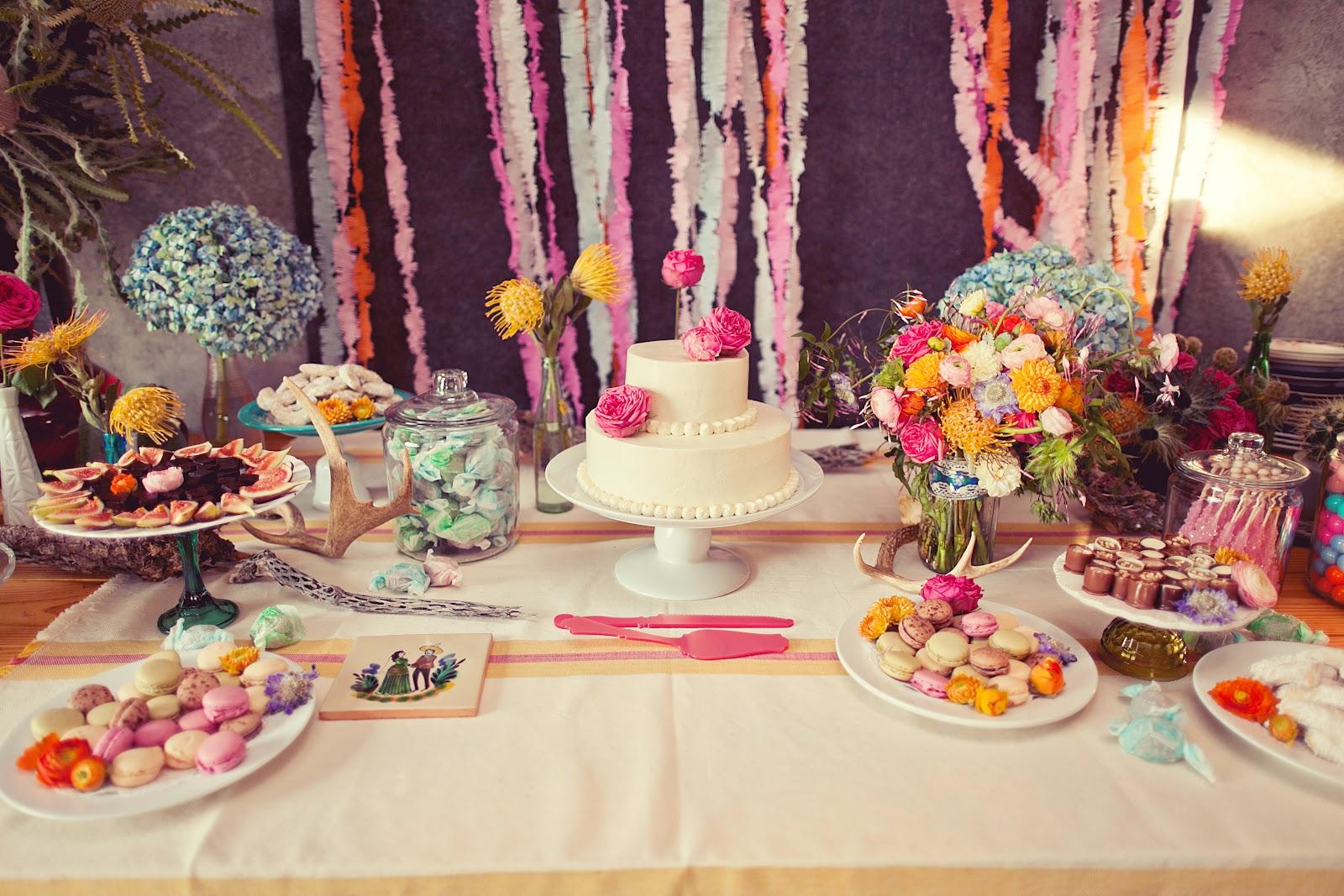 Cakewalk Bake Shop Inspiration Whimsical Dessert Buffets