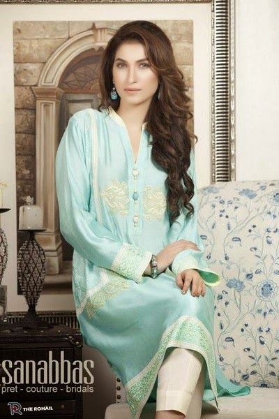Sana Abbas Fall–Winter Dress Collection 2014-2015
