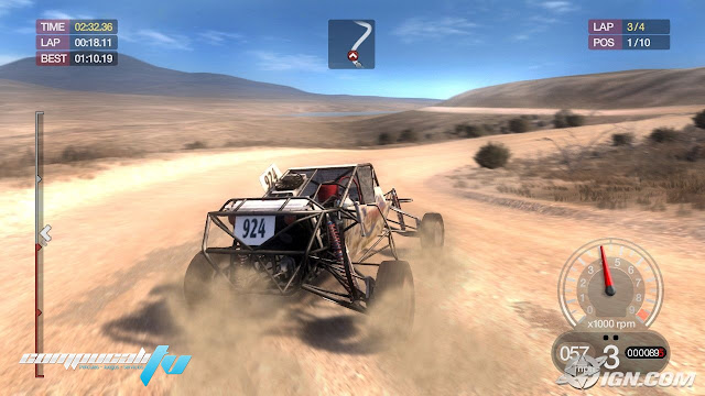 how to run dirt 3 full screen