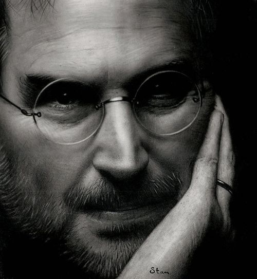 40 Lukisan Steve Jobs yang Mengagumkan: Dominating Confidence