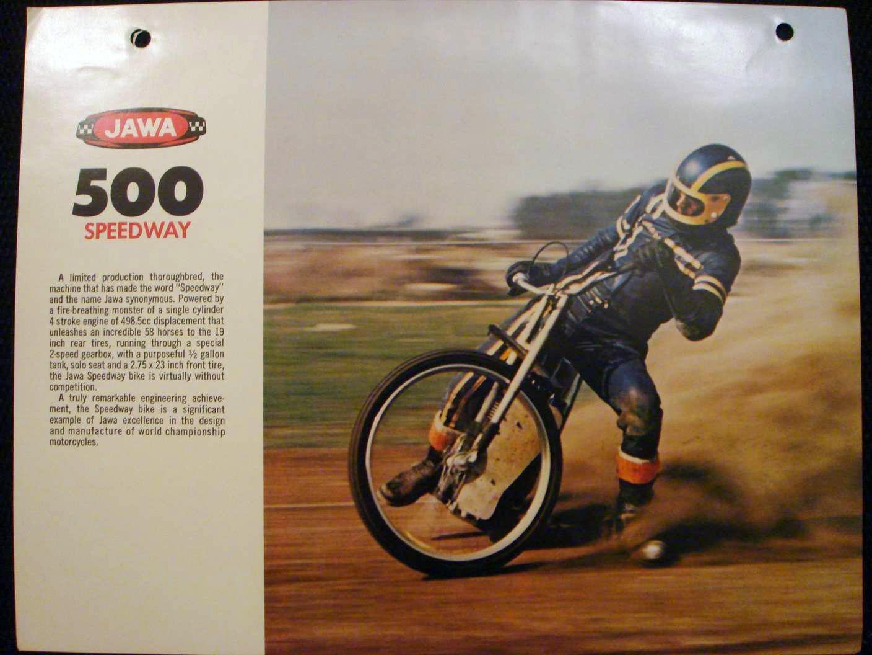 Jawa 500 Speedway ulotka a