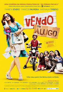 "Poster do filme ""Vendo ou Alugo"""