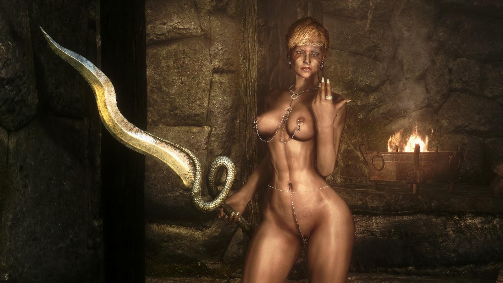 Nude armor sexy comics