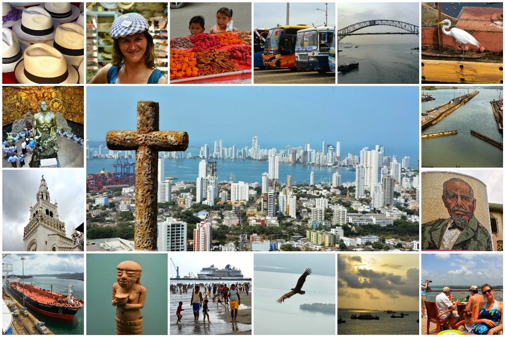 South America collage