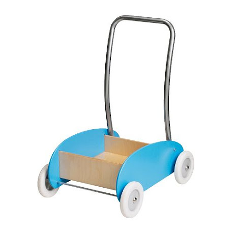 NAMC montessori infant toddler environment preparing for movement walker wagon