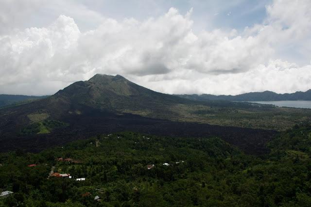Volcán Batur, Bali.