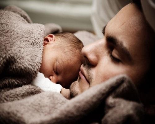 Photo bébé et papa