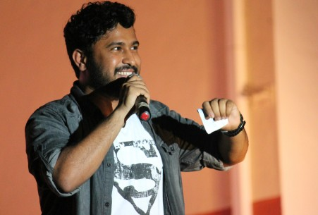The Abish Mathew performance at New York Comedy Club deals with the differences between the sexes especially when it comes to having sex.