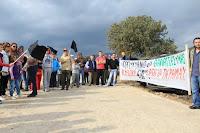 Μάκρη - συγκέντρωση διαμαρτυρίας κατά των χρυσωρυχείων