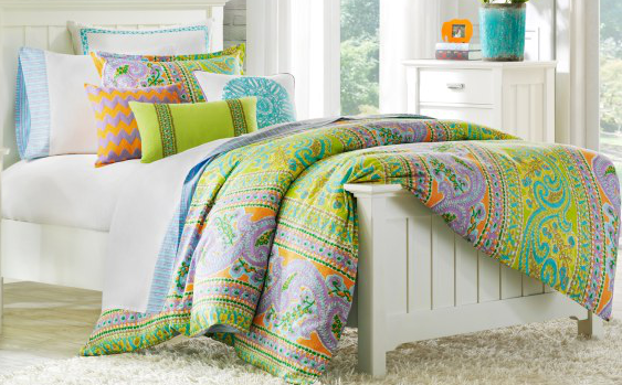 Preppy Dorm Bedding: Preppy But Not Perfect: Dorm Room Bedding I Love