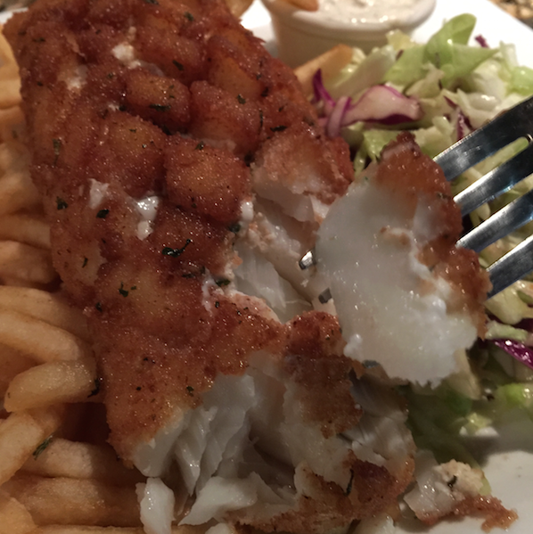 Fish and chips at Fin's Market and Grill in Roseville