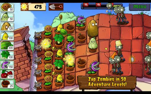 Juegos android by death4ak descargar plantas vs zombies for Jardin zen plantas vs zombies