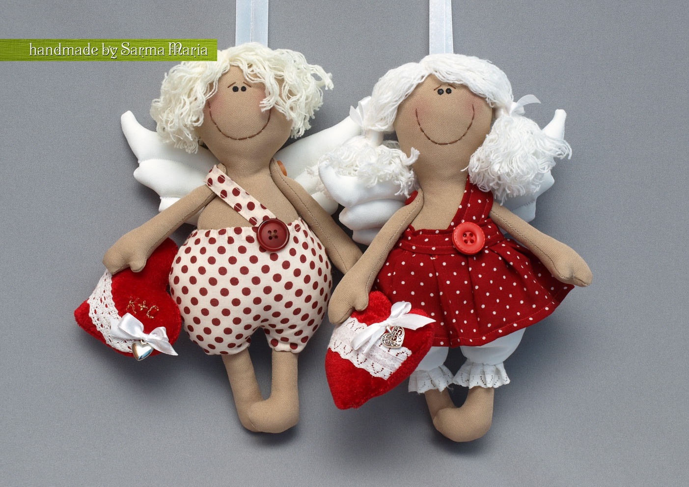 Ангел игрушки своими руками