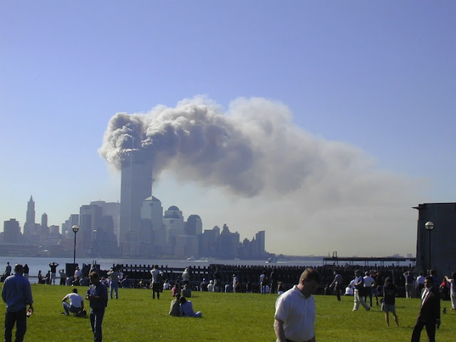 Rarely seen photos from September 11