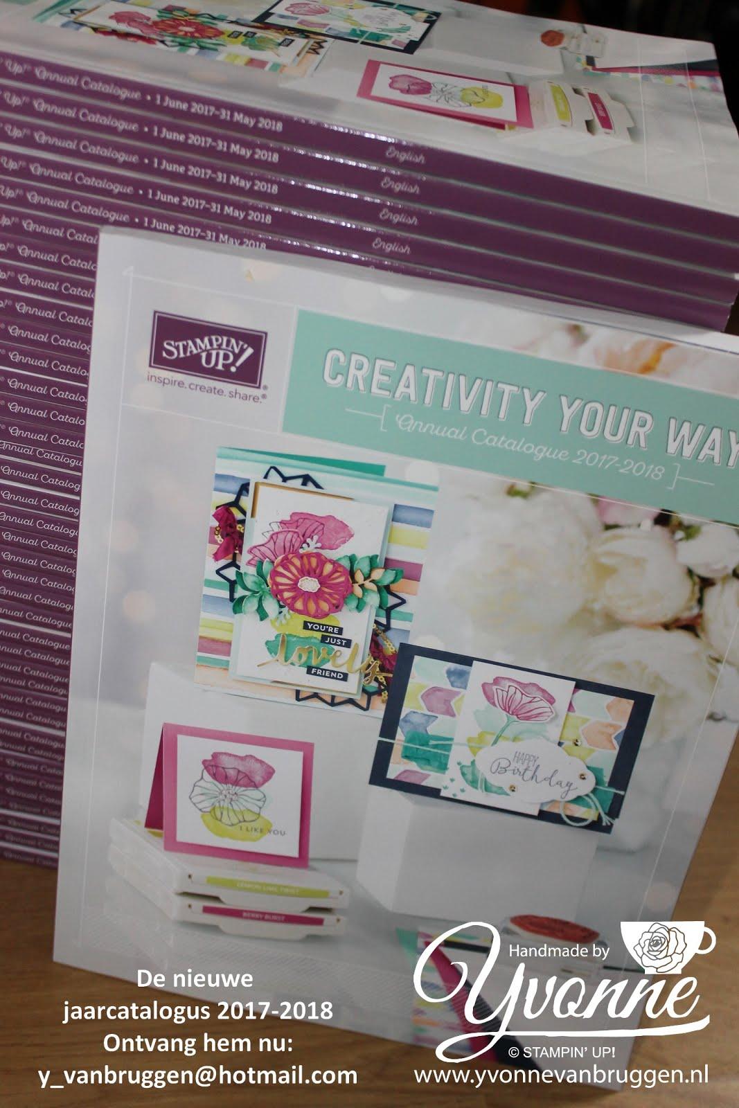 Kom de nieuwe producten zelf uitproberen! Op donderdagavond 1 juni: Nieuwe-Catalogus-Party!!