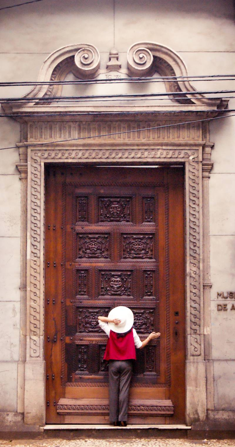 Such a Flour, Renata Wandega-Valente, The door that guards all secrets 1