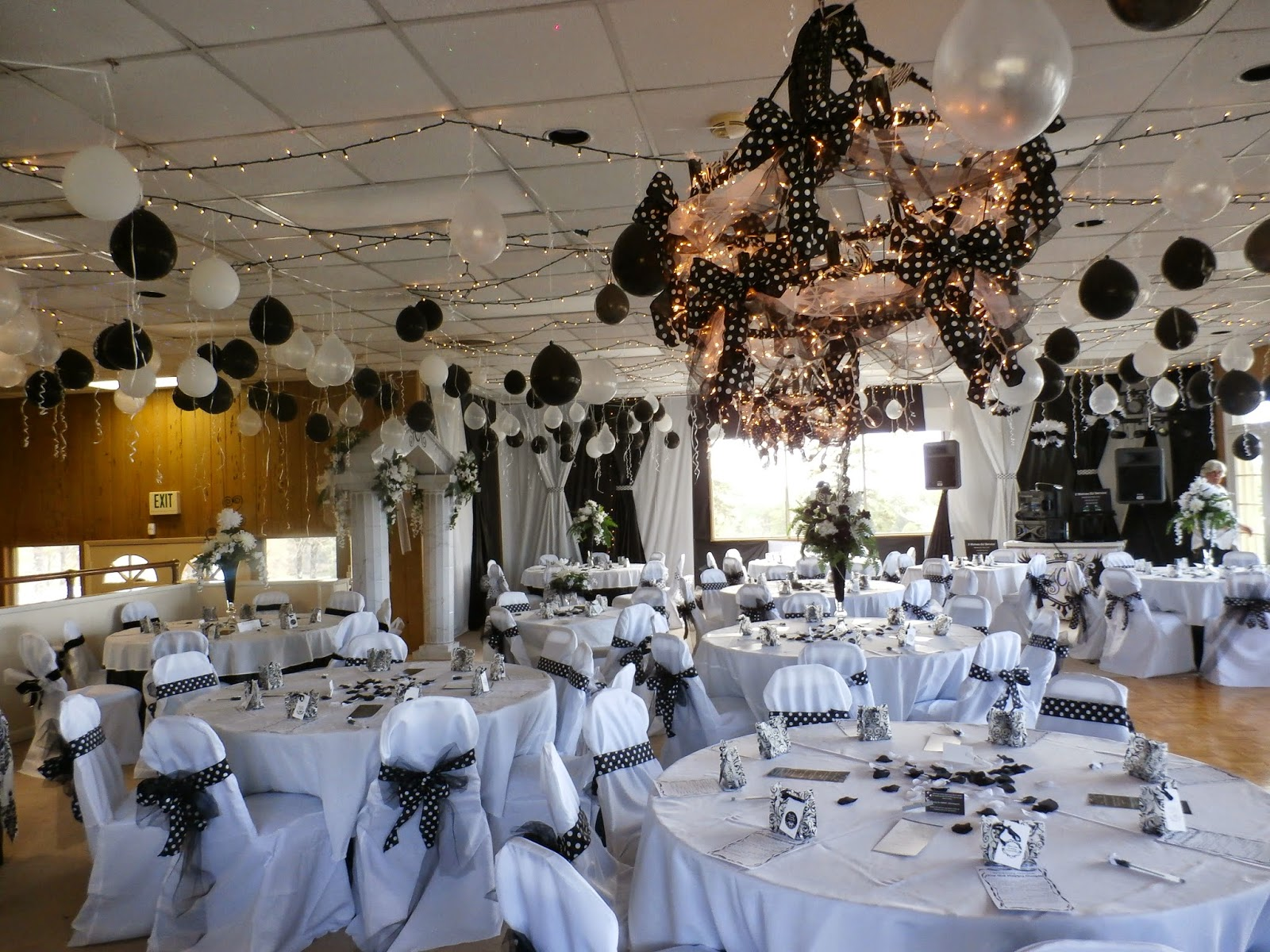 Wedding - Black and White Theme