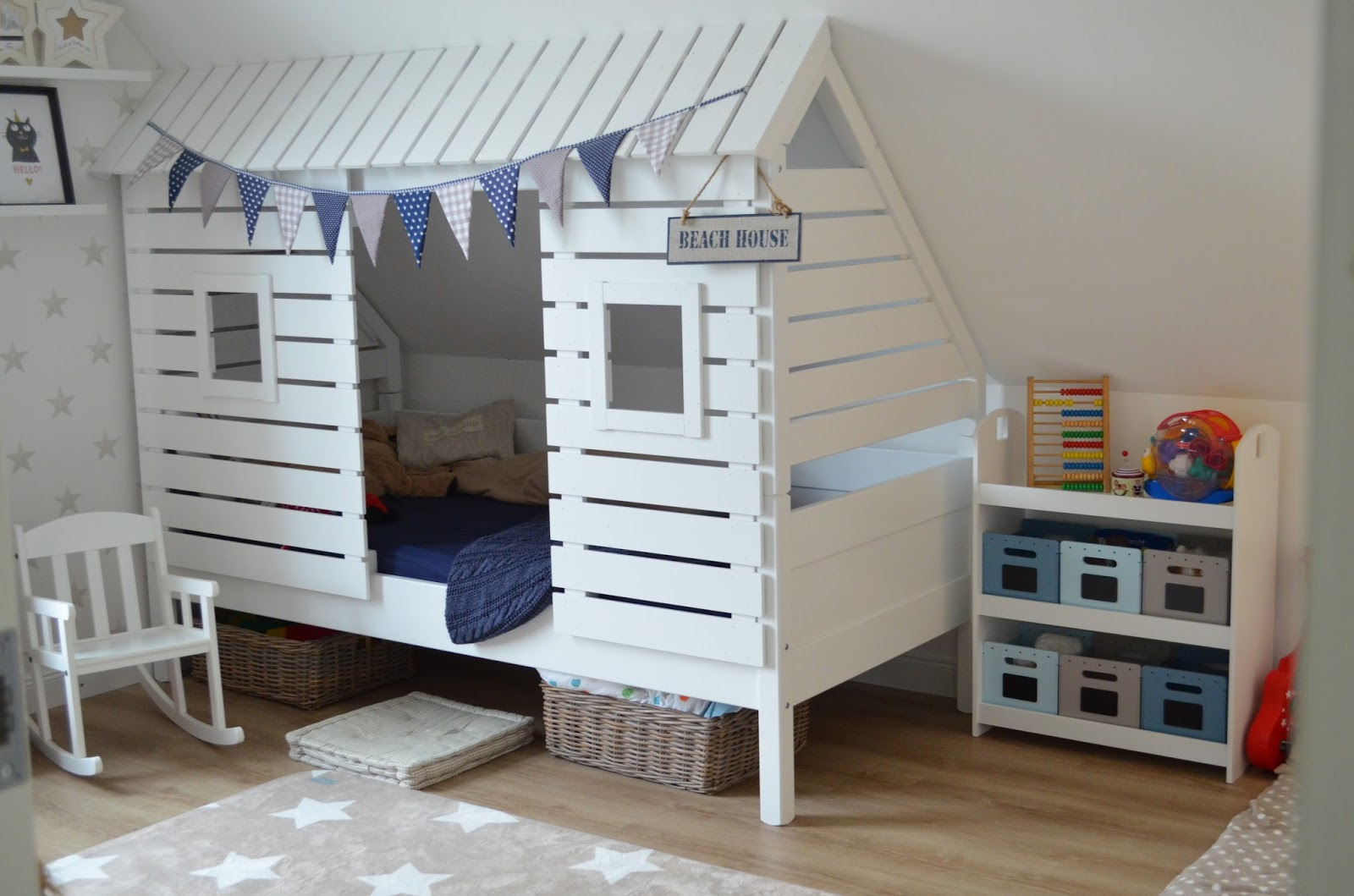 deko hus kinderzimmer die zweite. Black Bedroom Furniture Sets. Home Design Ideas