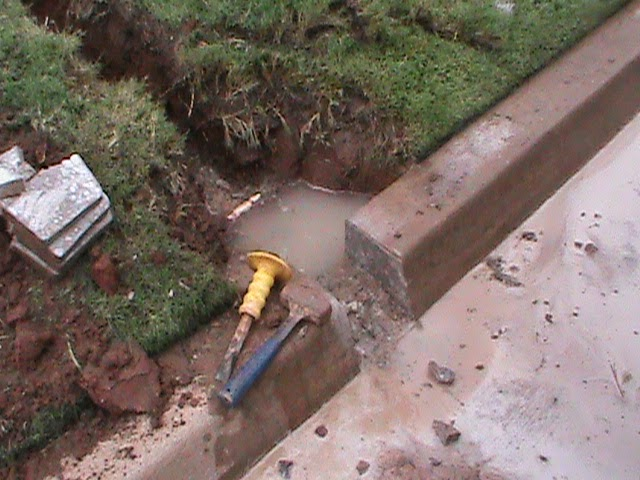 Cmg Sprinklers And Drains French Drain Drainage System