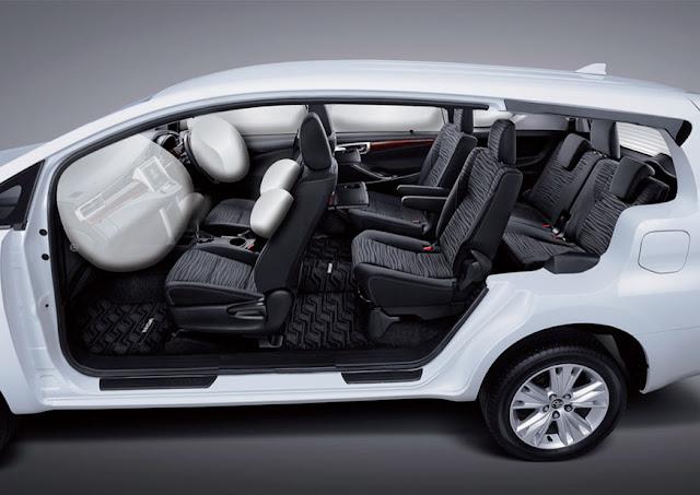 toyota-innova-airbag 2016 டொயோட்டா இன்னோவா எம்பிவி கார் அறிமுகம் - Toyota Innova