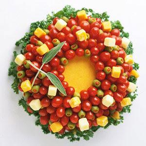 comidas decoradas para o Natal