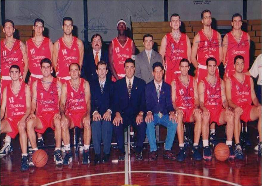 B. ARCHENA 1996-1997. Liga EBA