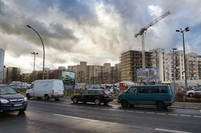 Baustelle Baugemeinschaft HEINE71, Heinrich-Heine-Straße, 10969 Berlin, 08.01.2014
