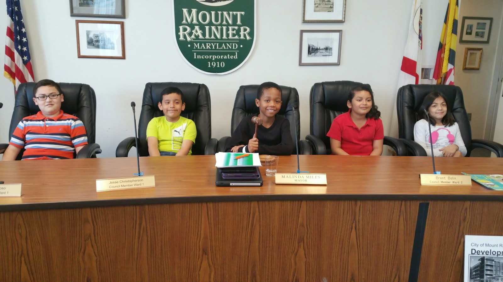 Third Graders Visit City Hall