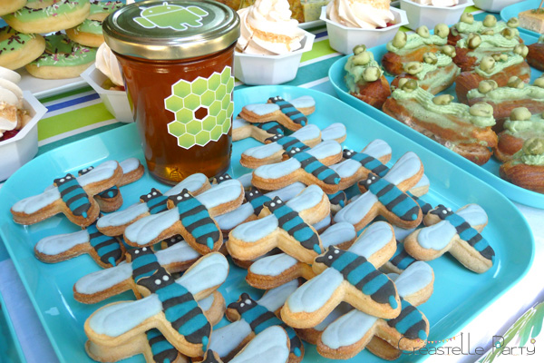 table de douceurs android / android sweet table - honey bee