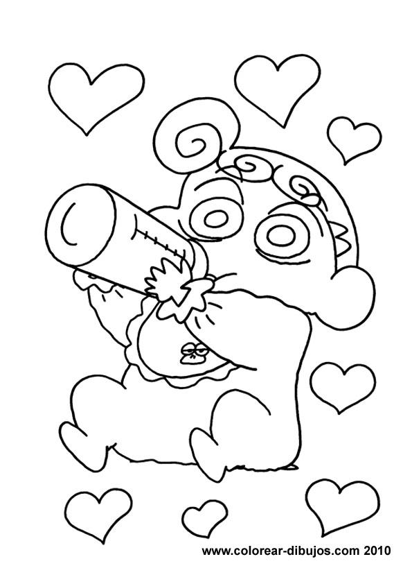 Cartoons Coloring Pages Shin Chan