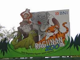 Gambar Lokasi Kebun Binatang Ragunan