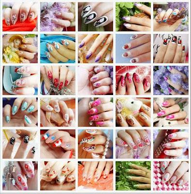 Awe-Inspiring Short Nail Design 2013