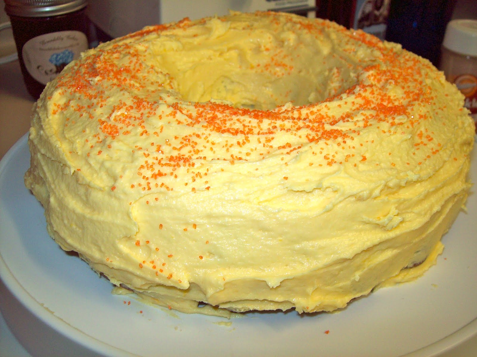 Brendilly's Kitchen: Orange Cream Cake