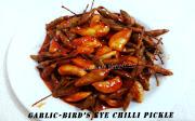 Bird's Eye Chilli/Kanthari Mulak (whole): 2 cups