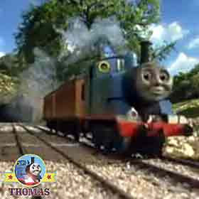 Thomas the tank engine Annie and Clarabel train tour ride countryside picnic party Shen valley hills