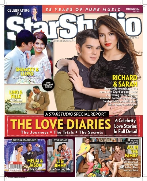 Richard-Sarah Love Team, Melason and Shamcey-Lloyd Weddings on StarStudio February 2014 Issue