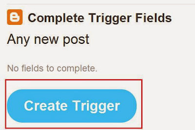 Blogger Trigger to Post | Trickdon