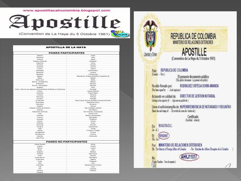 Apostilla oficial cali tel 3175539772 legalizar for Oficinas dhl colombia