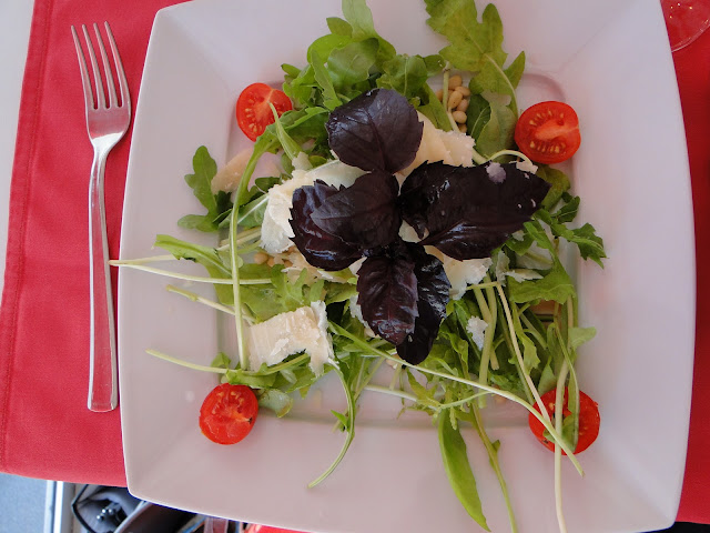 Italian Salad at Bianco Rosso Pasteria Lviv Ukraine