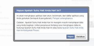 Hapus Aplikasi FB
