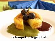 Tvarohové buchtičky s ovocnou omáčkou - recept