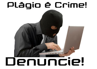 Plágio é crime, internet