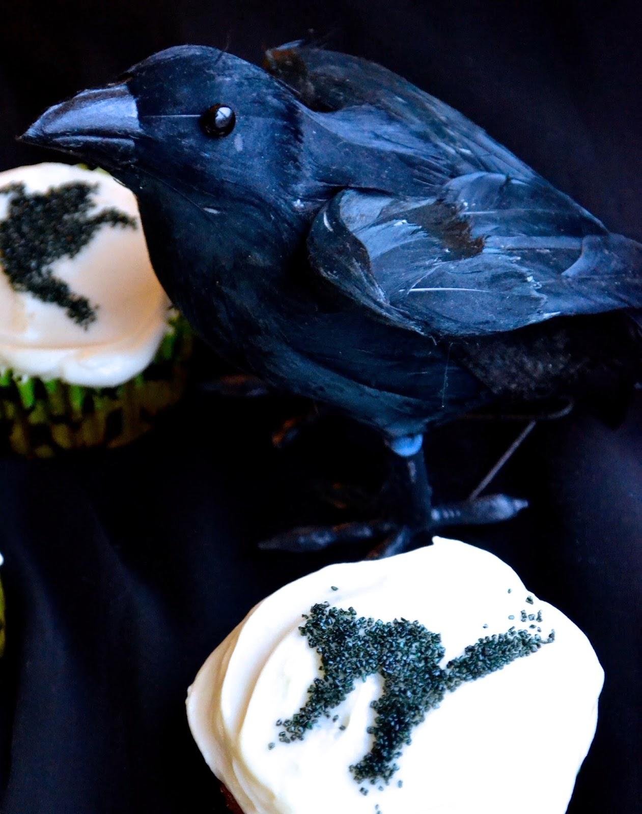 halloween cupcakes decor stencils